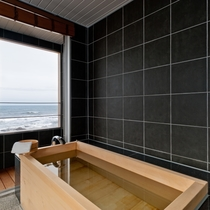 「明神」和室10帖+リビング12帖+ツインベッドルーム+テラス+半露天風呂 87㎡
