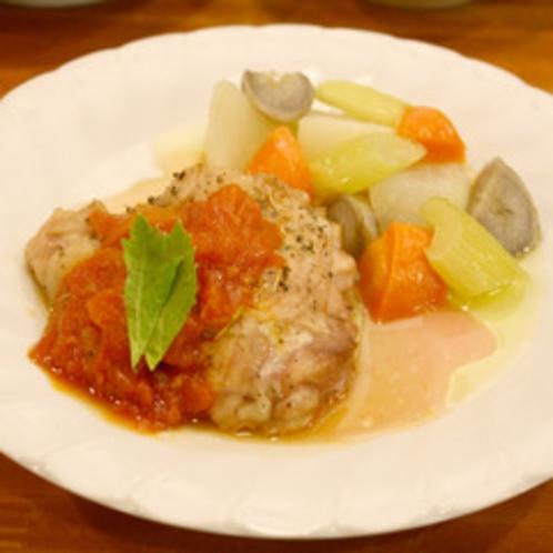 ある日のディナー(チキン)