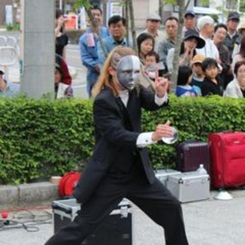(夏)遠刈田温泉大道芸人フェスティバル