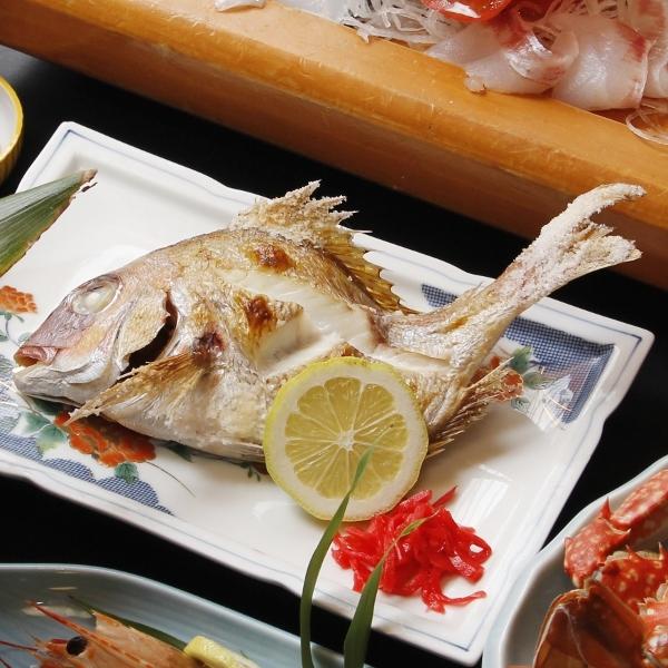 焼き魚◆三河湾の四季に富んだ旬の味をその時々にお出ししていますのでご賞味下さい。
