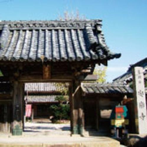 安楽寺(タコ阿弥陀)昔、地震で海に沈んだ寺の仏像が引き揚げられた時、大ダコが仏像を守る様に抱いてた