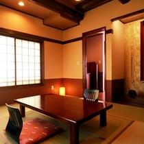本館8畳◆天井が高く、開放感がありゆったりと寛ぐにはピッタリのお部屋です。温水洗浄トイレ&洗面付