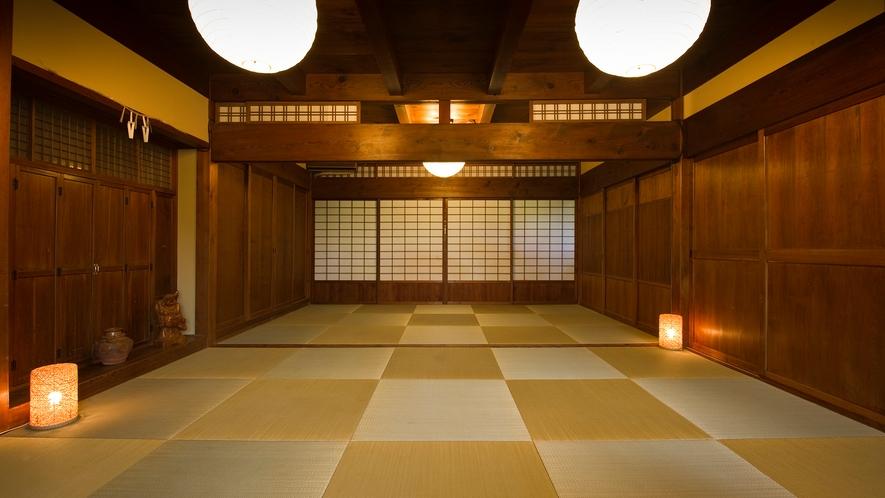 お食事処は、1日4組限定!仕切りがございますので、プライベート空間でお食事をお楽しみ頂けます!
