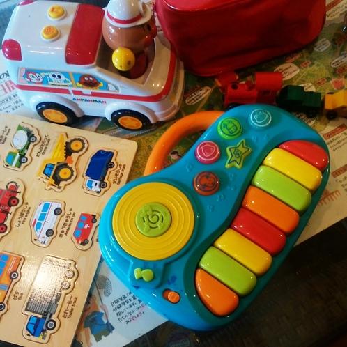 小さなお子様のおもちゃもご用意しております。ご家族の方もゆっくりご宿泊できると思います。