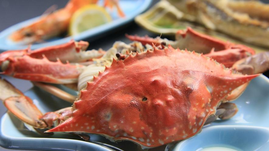 ワタリガニ◆日間賀島名物!カルシウム等の栄養も豊富。濃厚な味わいでとても美味しく頂けます。
