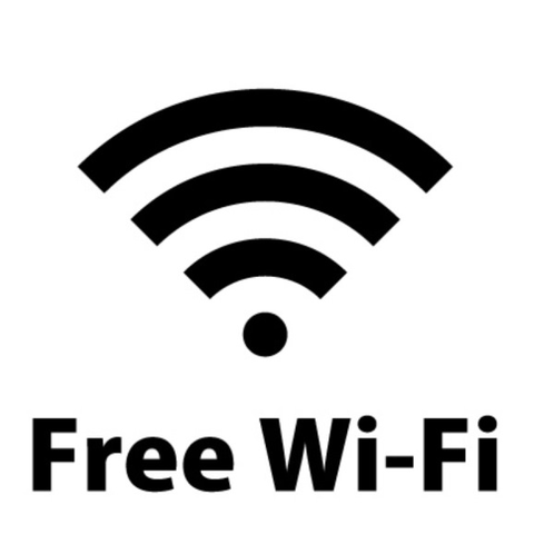 全室Wi-fi完備。ネット環境バッチリ。当館インスタもFacebookもCheck it out!