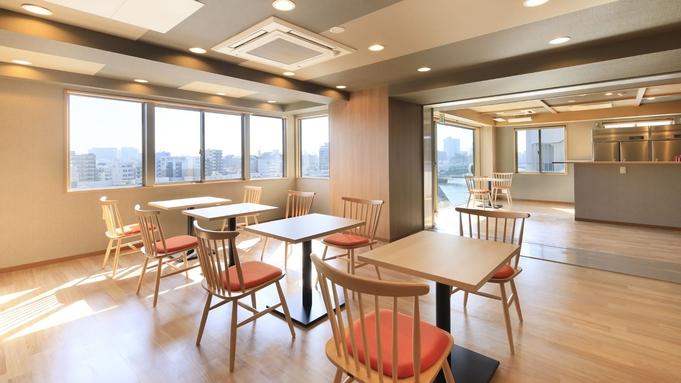【屋上でBBQを満喫!】隅田川やスカイツリーを眺めながらホテルの屋上でBBQ◆軽朝食無料サービス