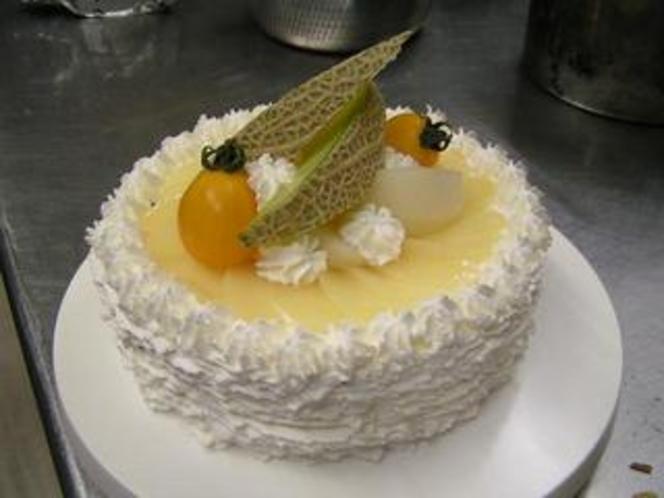 フルーツケーキ(例)