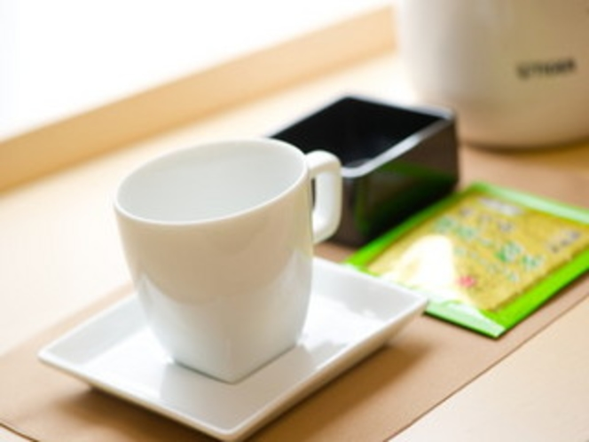 客室備品:お茶セット