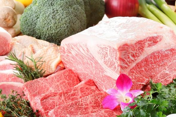 【数量限定】特別料理「A5ランク福島牛 サーロイン100g付」〜夕朝食バイキングプラン〜