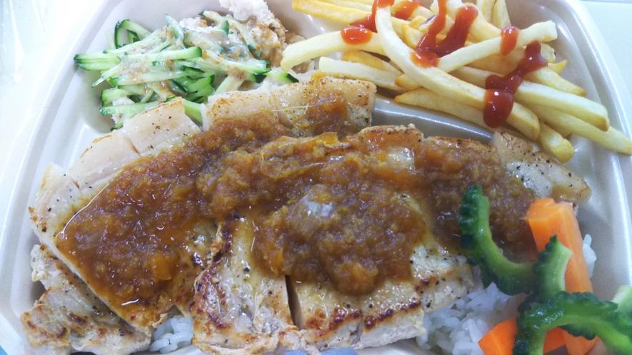 沖縄豚の生姜焼き