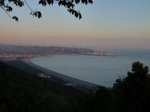 西山からの眺望