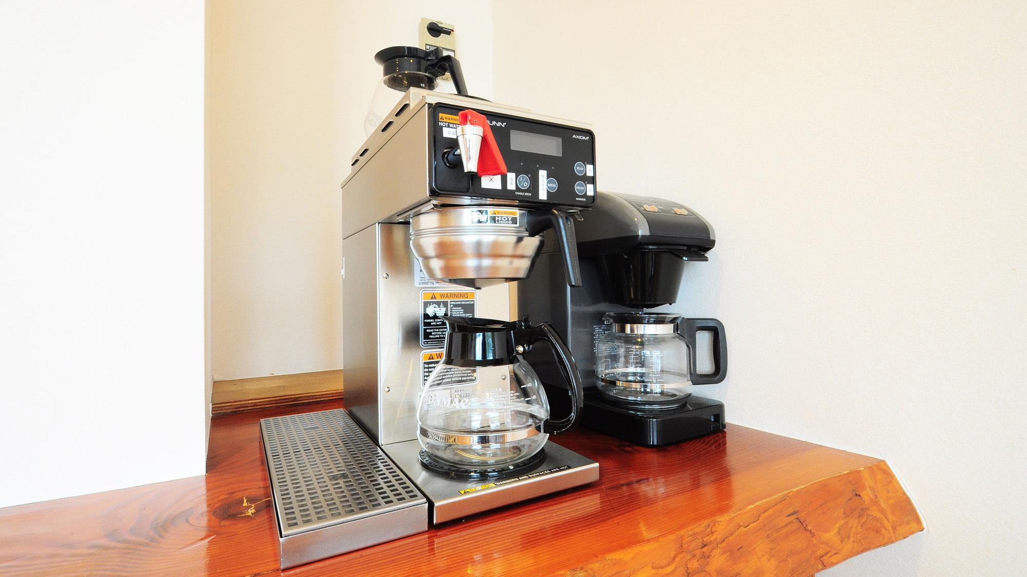 【朝食会場】モーニングコーヒーをお楽しみください