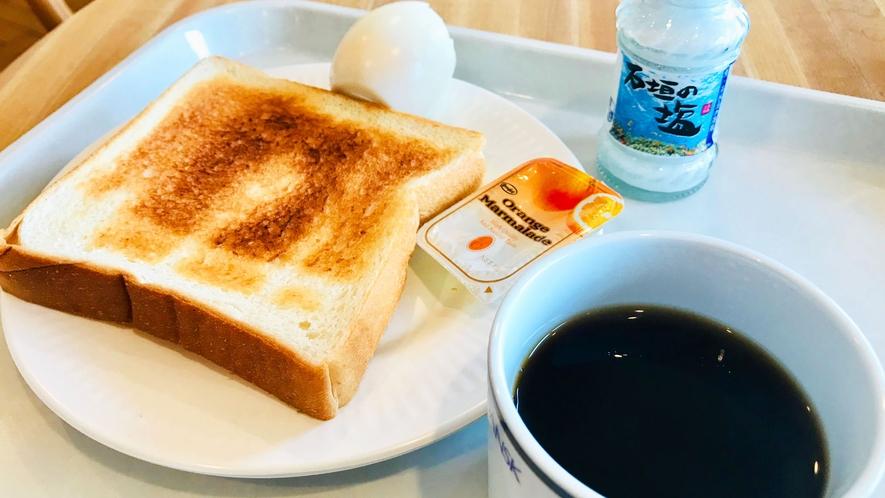 【軽朝食】朝の軽いお食事をお楽しみください