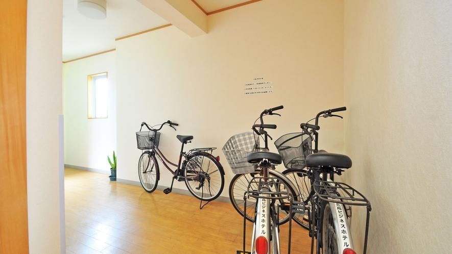 【レンタサイクル】ホテル周辺の散策も自転車で楽ちんです