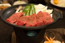 高千穂牛の陶板焼き3