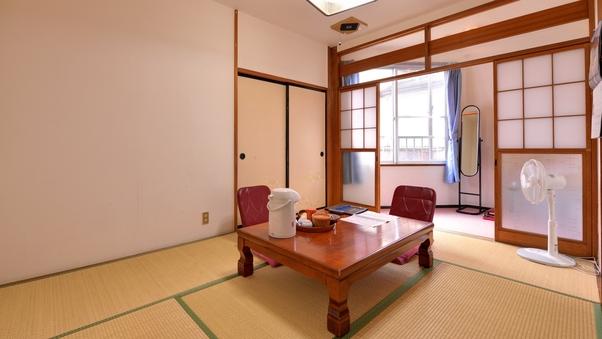 【和室】6-8畳(個室食・wi-fi・冬季こたつ付)