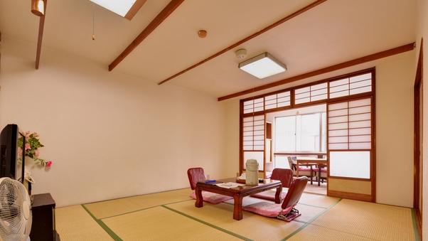 【和室】10畳(個室食・wi-fi・冬季こたつ付)