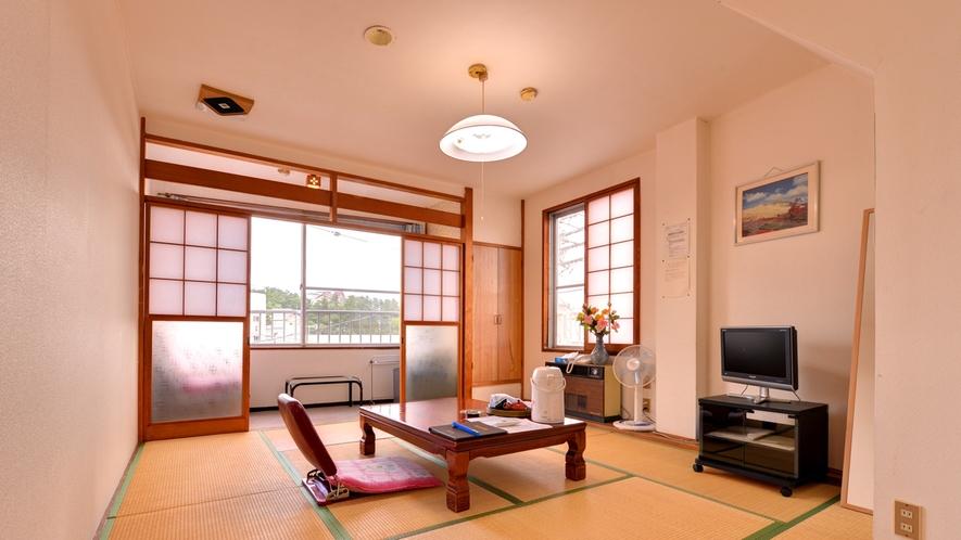 *和室8畳(客室一例)/グループやファミリーにオススメ!畳のお部屋で団欒のひと時をお過ごし下さい。