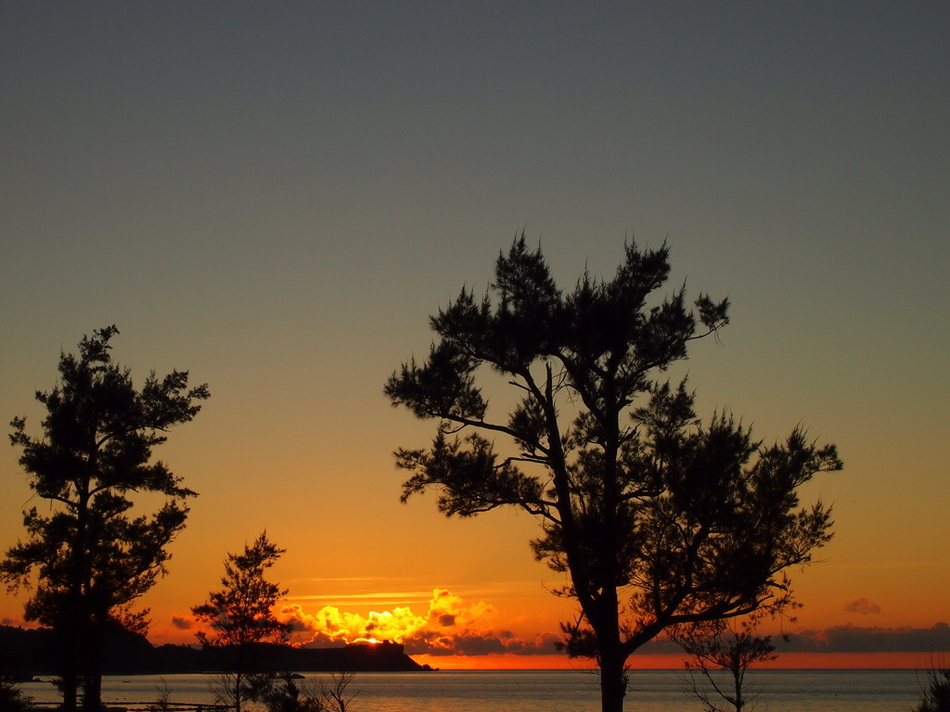 夏の夕焼け2
