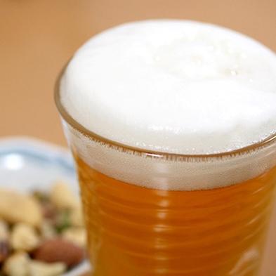 【晩酌セット】夜のお供に♪350ml缶ビール 2缶&おつまみセット付き〜ほろ酔いプラン