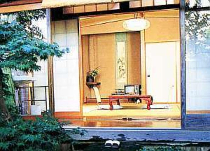 三浦屋縁側