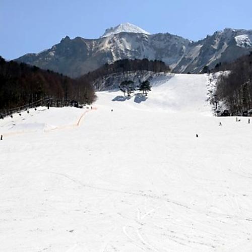 裏磐梯スキー場ゲレンデ