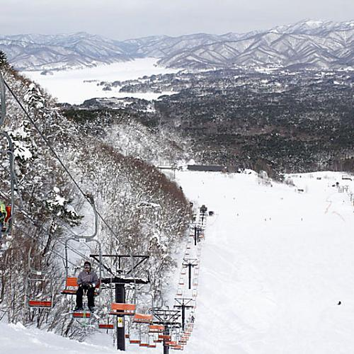 裏磐梯スキー場リフト&コース