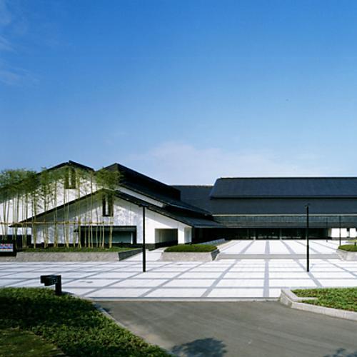福島県立博物館外観