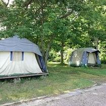 キャンプ&ホテル(休暇村キャンプ場)