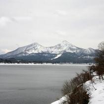 桧原湖ー磐梯山・晩冬(3月後半~4月半ばの様子)