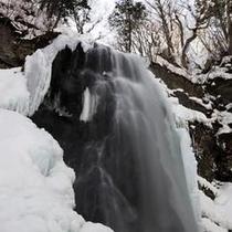 小野川不動滝・冬(2)
