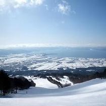 猪苗代スキー場ゲレンデ
