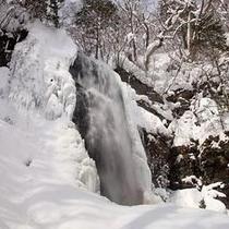 小野川不動滝・冬(3)
