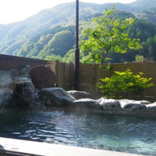 *【大浴場/仙人の湯】女性用露天風呂★パワースポットゼロ磁場の石を入れた運気の上がるお湯!