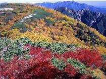 秋の南アルプス