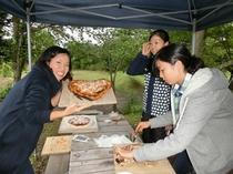 ピザ焼き体験