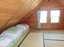 ログコテージファミリータイプ/寝室