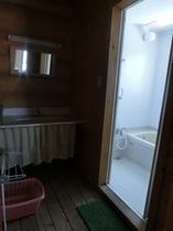 ログコテージグループタイプ/風呂 洗面所