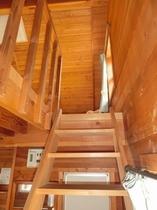 ログコテージファミリータイプ/階段