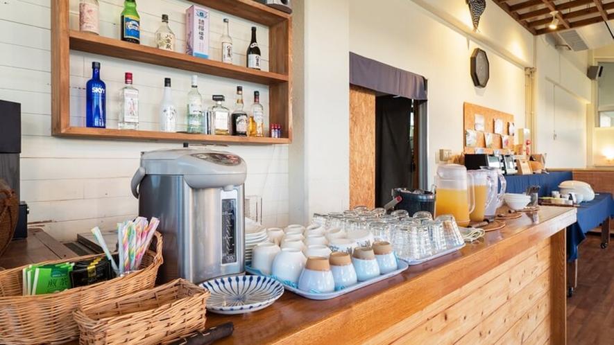 *【朝食風景】御宿泊者様には朝食サービスをご用意しております。