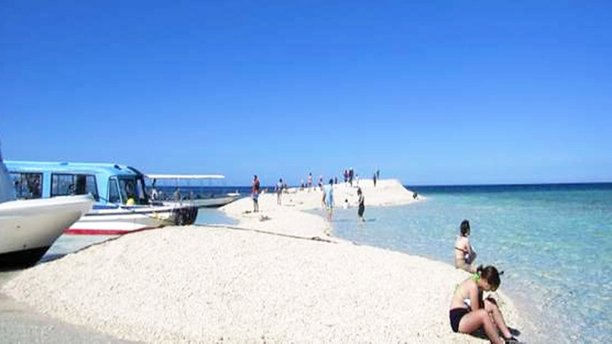 *【周辺】西表島の北部にあるサンゴで作られた無人島「バラス島」。遮るものが無い為日焼けにはご注意!