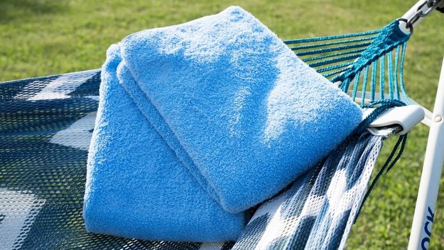 *【アクティビティ用タオル】マリンスポーツなどアクティビティ体験時にご使用ください。