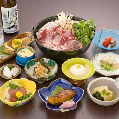 ◆【ペットと一緒に宿泊♪】静岡名産「猪鍋」と富士山麓名産「鹿刺し」をご堪能!【夕朝食付】