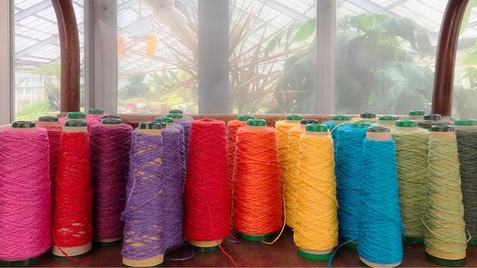 ・【朝食付】旅の思い出に…≪はた織り≫体験でのんびりゆふいん時間♪