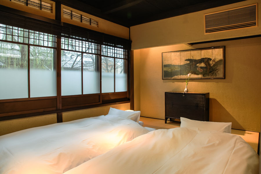 高瀬川・寝室