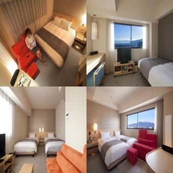 【禁煙】部屋指定なし【16平米以上の清潔でゆとりある客室】