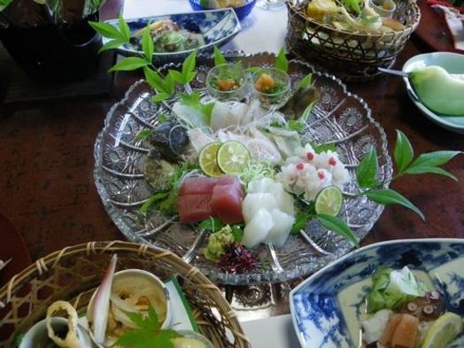 【期間限定タイムセール】地魚を味わう! お造り会席7品プラン
