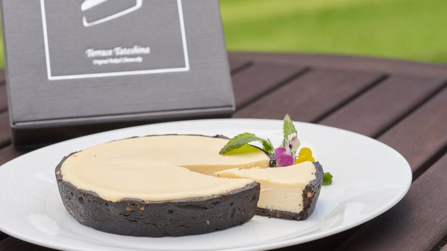テラス蓼科オリジナルチーズケーキ