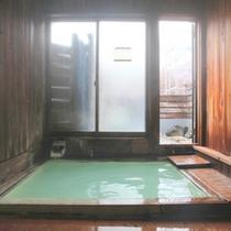 乳白色天然温泉を内湯で満喫下さい。